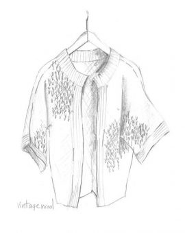 Edge-to-Edge Stitch Cardigan - Erika Knight