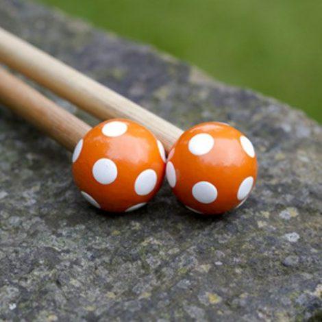 Art Viva Knitting Needles Orange