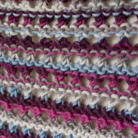 Shawl Knit Pattern