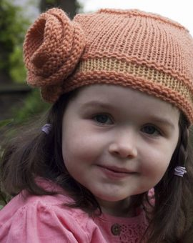 Gingerbread Cloche Hat