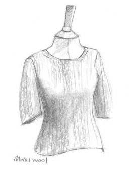 Erika Knight Simple Short Sleeve Sweater - Front