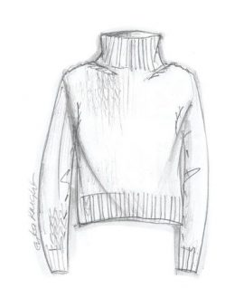 Erika Knight Simple Sweater - Front
