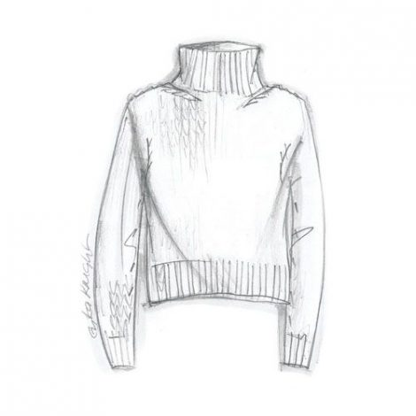 Erika Knight Simple Sweater – Front