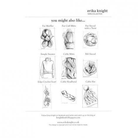 Erika Knight Simple Sweater – Back