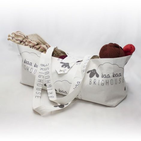 Baa Baa Brighouse Knitting Bag