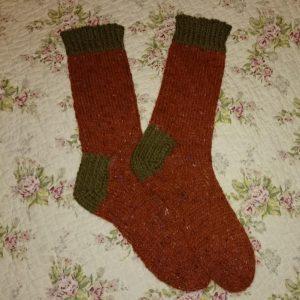 Felted Tweed Socks