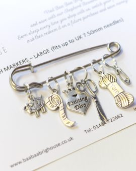 Baa Baa Brighouse Stitch Markers - up to 7.5mm