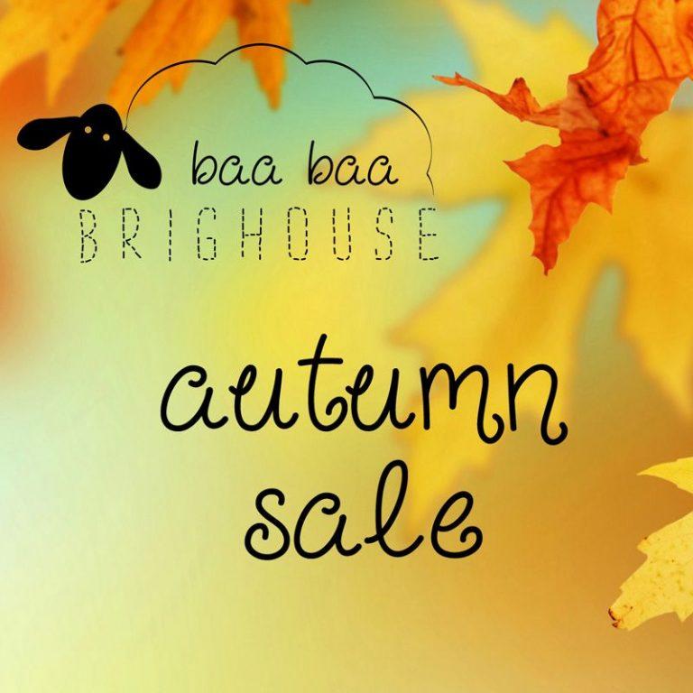 The Baa Baa Brighouse Autumn Sale