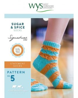 4Ply_No5_SugarSpice_Socks_Front Cover-600x600