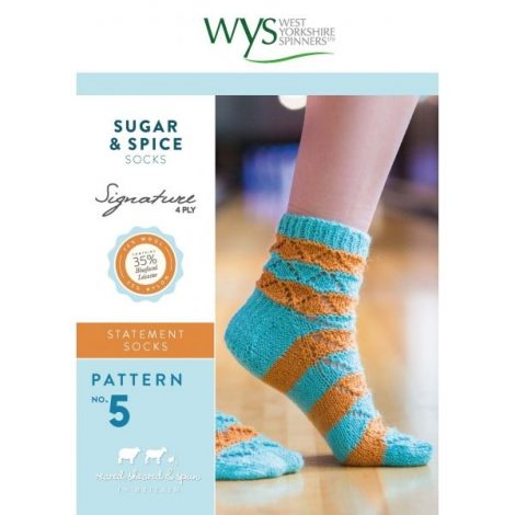 4Ply_No5_SugarSpice_Socks_Front Cover-600×600