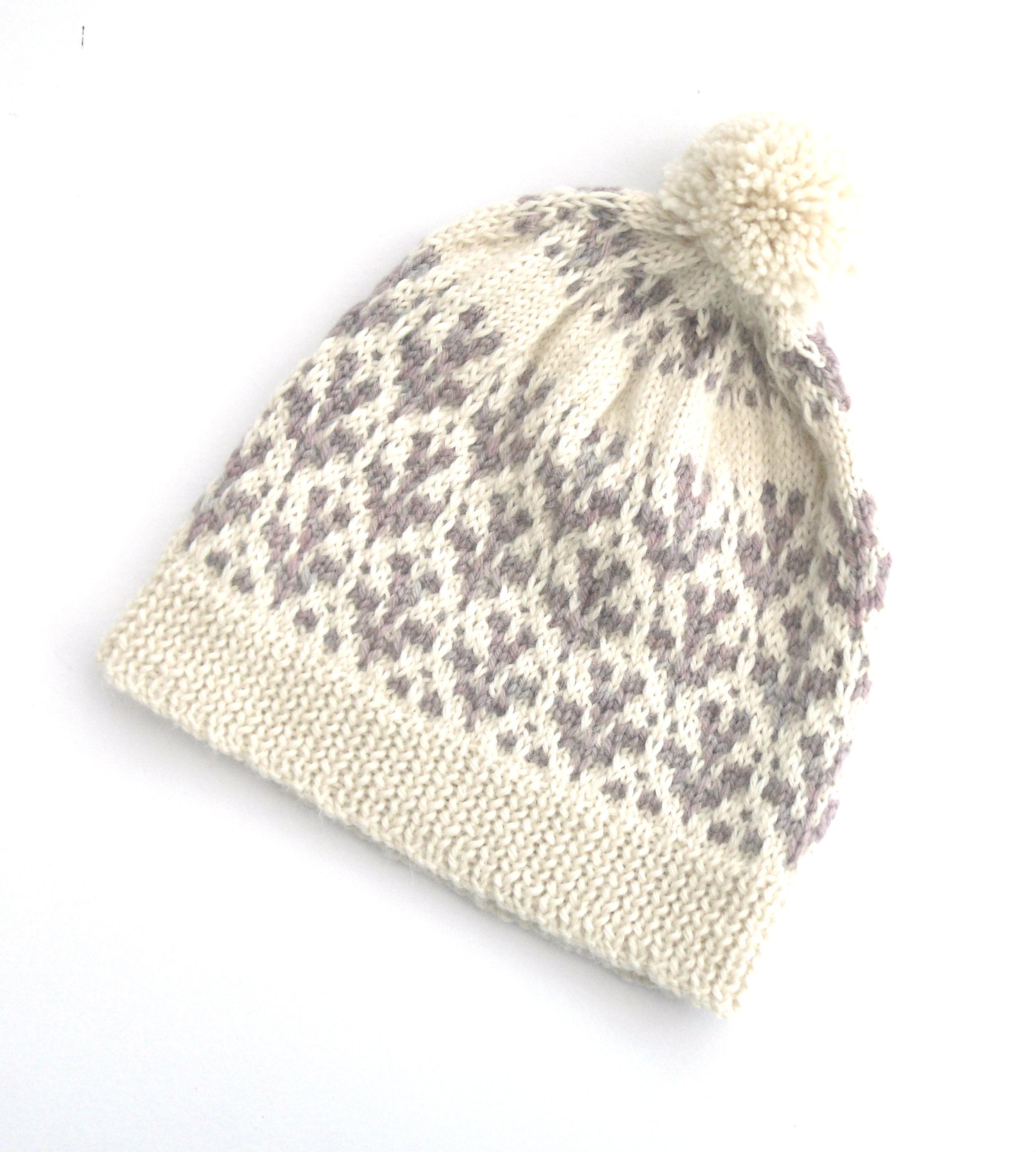 Knitting Kits Uk : Sprig beanie hat knit kit with baa brew