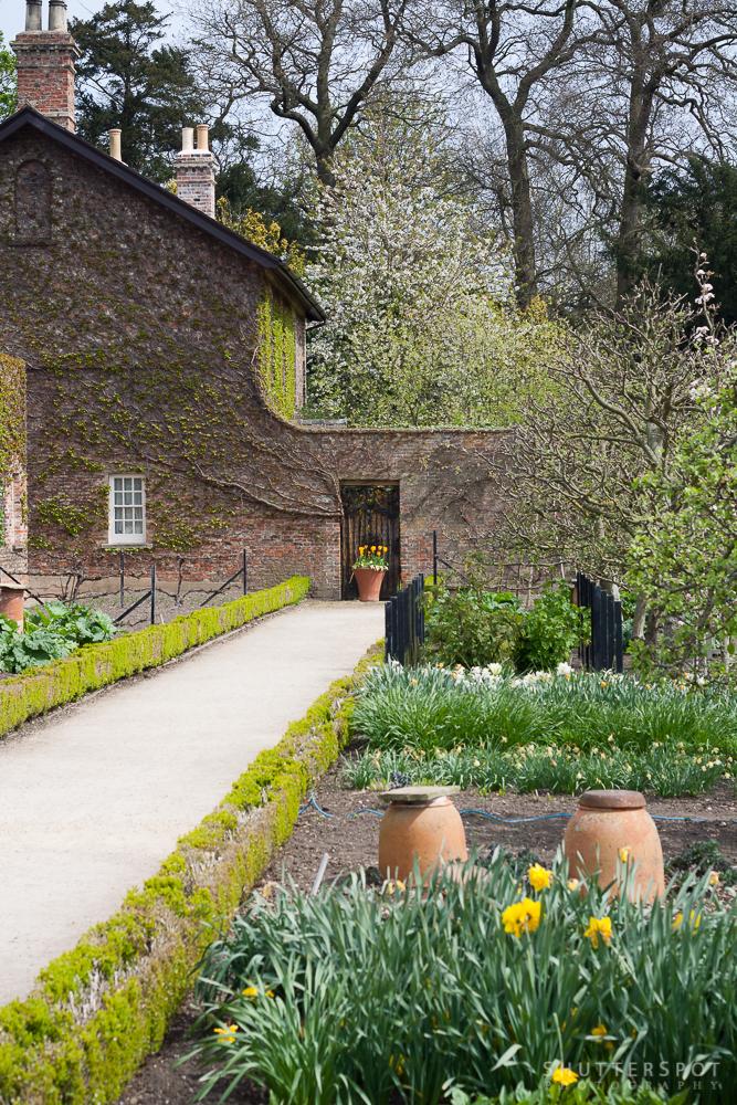 A quiet corner of the Beningbrough Hall Estate