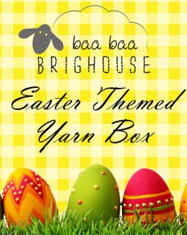 Easter Themed Yarn Box