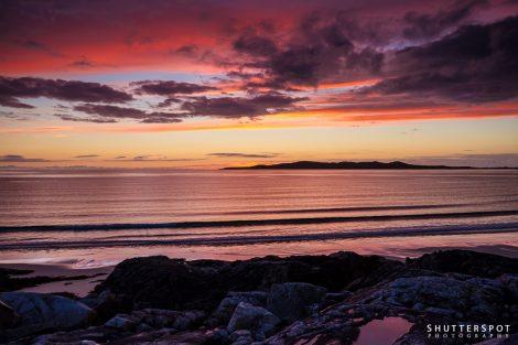 Traigh lar Sunset II