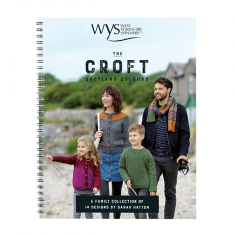 The Croft Shetland Colours Pattern Book – By Sarah Hatton