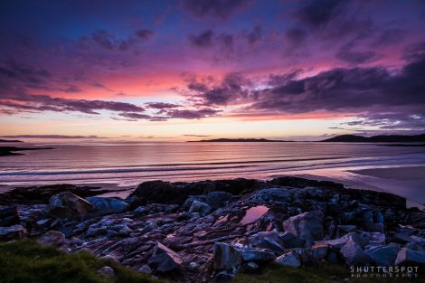 Traigh lar Sunset